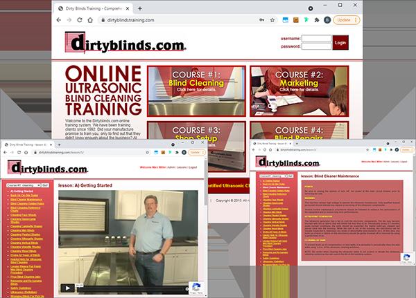 dirtyblinds.com training websites